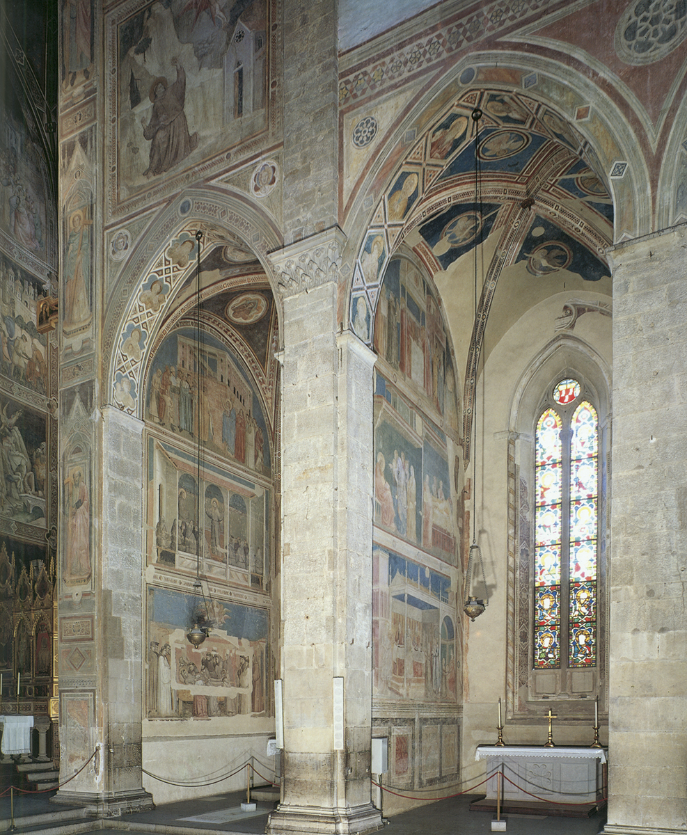 Bardi and Peruzzi Chapels by Giotto