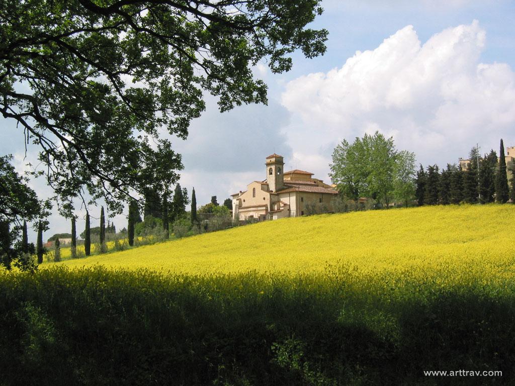 church of San Martino a Mensola (Fiesole - Florence)