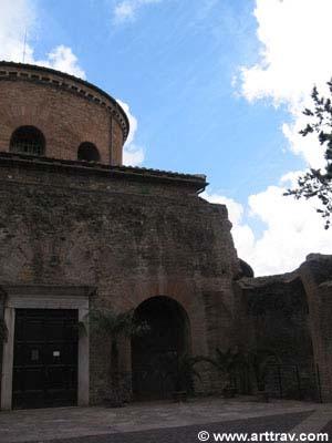Exterior of Santa Costantia