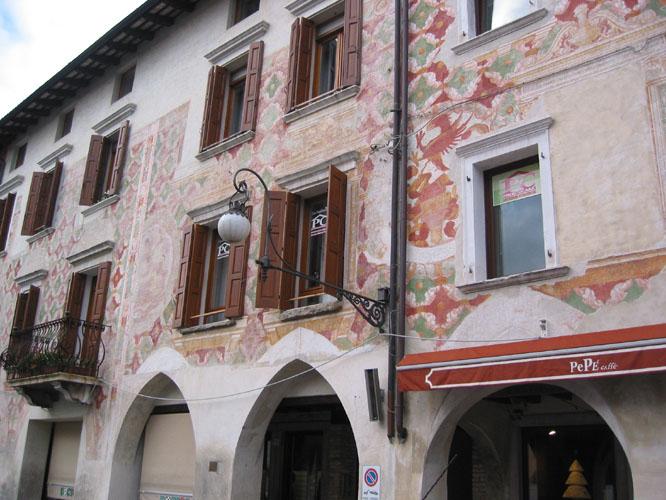 Pordenone house facade