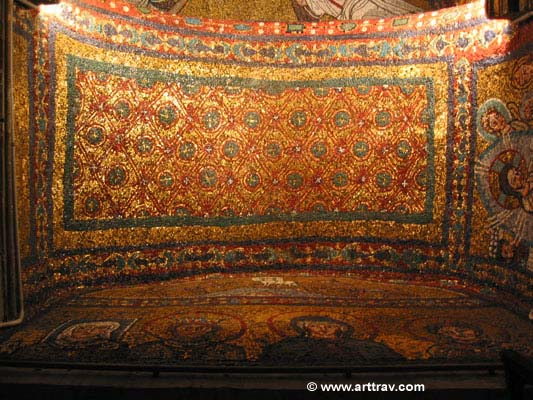 mosaic vault in santa prassede