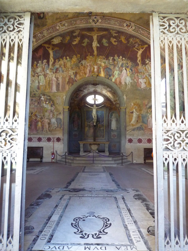 spanish chapel, view to altar