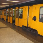 the squarish subway trains