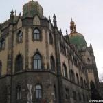 Decorative arts museum exterior