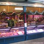 Colourful market stalls