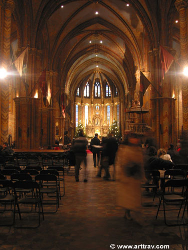 Matayas Church nave