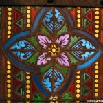 stained glass in matayas church