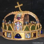 The oldest thing in town: crown jewels on display at the church