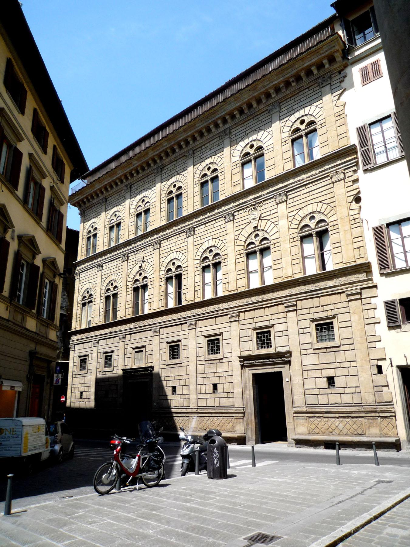 Palazzo rucellai the rucellai family home by alberti arttravarttrav - I giardini di palazzo rucellai ...