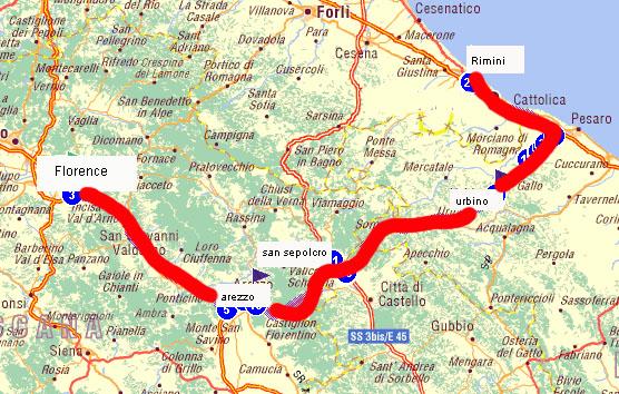 Piero Della Francesca Trail