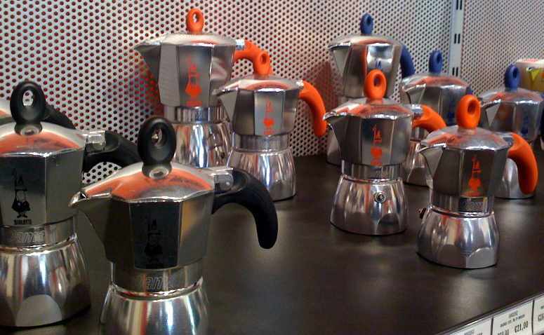 The new bialetti dama display in store