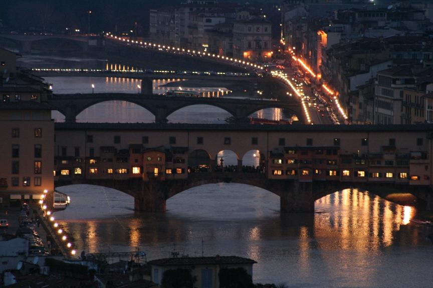 Ponte Vecchio at Dusk