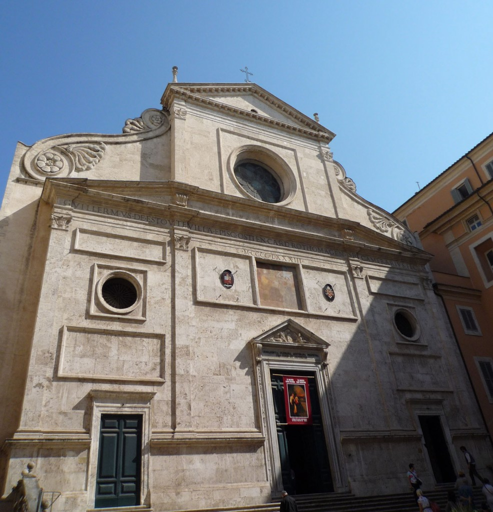 sant agostino rome church