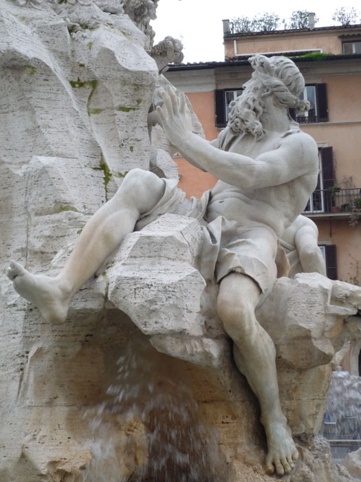 "Bernini's ""Fountain of the Four Rivers"" restored (Quattro ..."