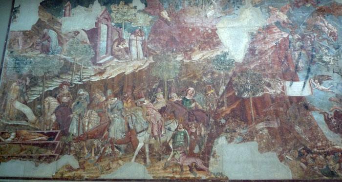 Pisa Camposanto Triumph Of Death And Last Judgement   ArtTravArtTrav