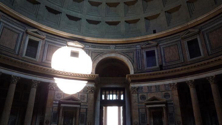 Pantheon marble walls