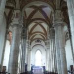 Pienza's Duomo has a Germanic interior