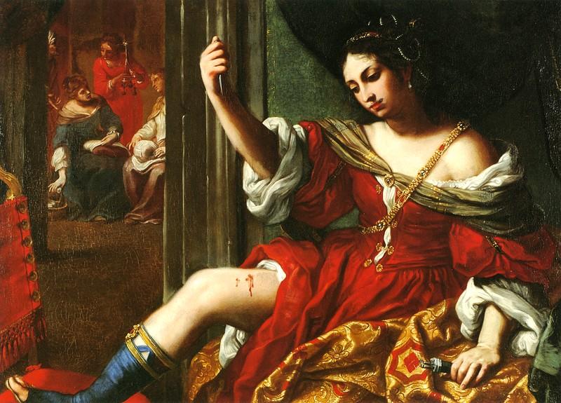 Elisabetta Sirani, Portia wounding her Thigh, Houston, Miles Foundation