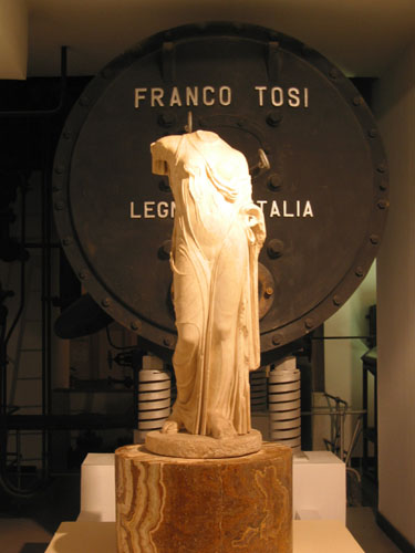 Greek statue and Tosi