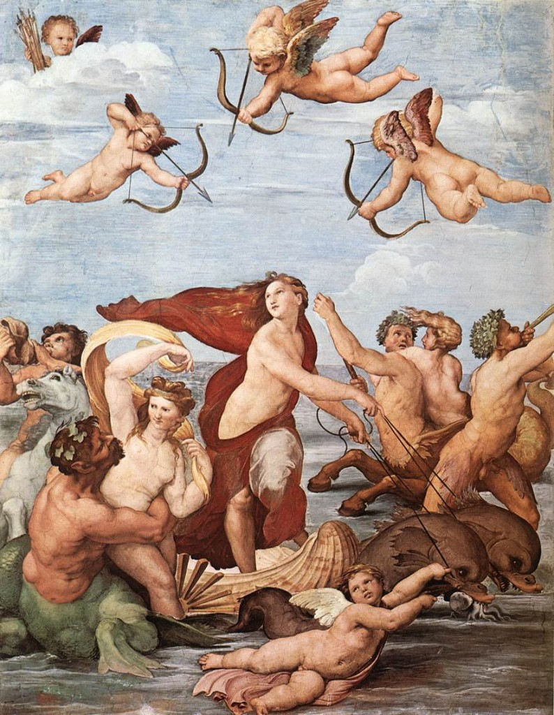 Raphael's Triumph of Galatea, 1512