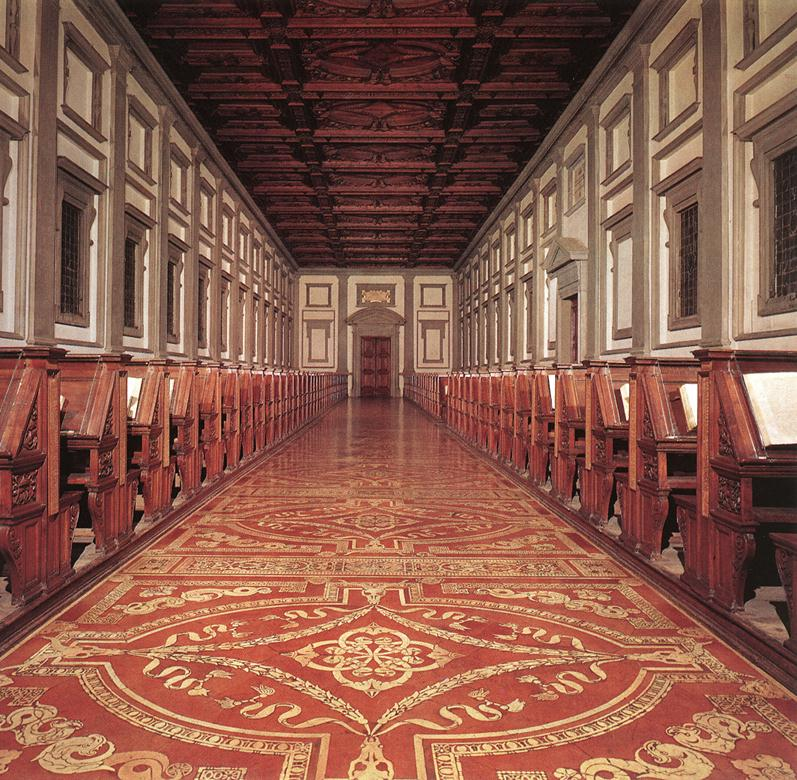 Laurentian Library interior