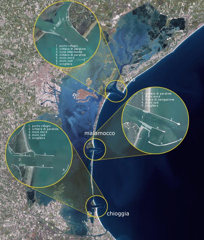 MOSE high water project progress