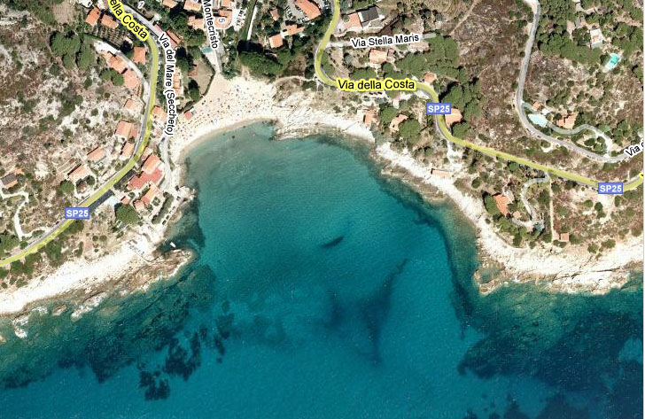 "Elba: ""our"" beach at Seccheto"