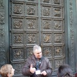 Learning about ghiberti's doors from free guide
