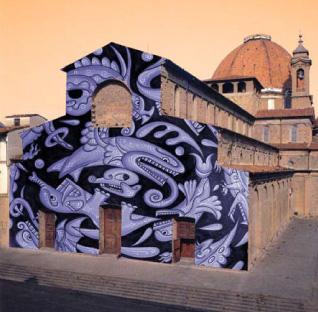 San Lorenzo new facade