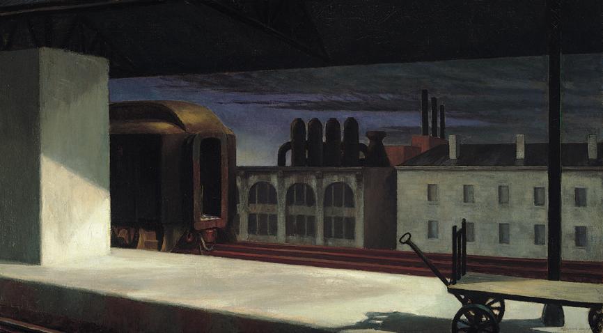 Dawn in Pennsylvania,1942, Terra Foundation