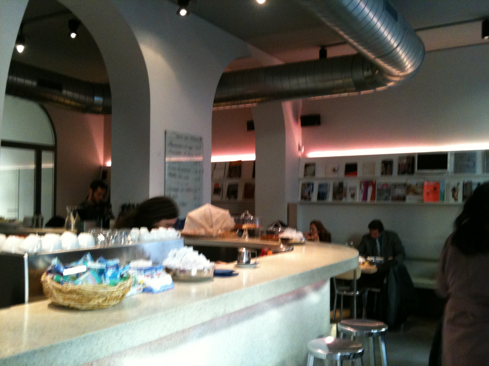 italian trend contemporary design bookshop cafe 39 s