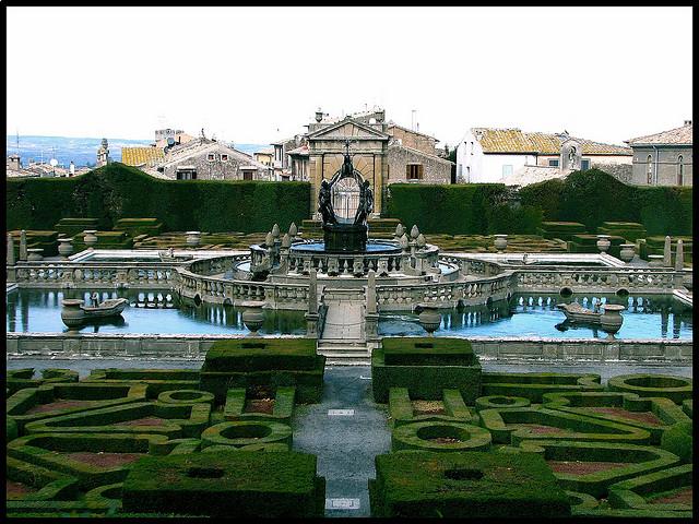 Villa Lante Bagnaia - photo flickr @valentina_A