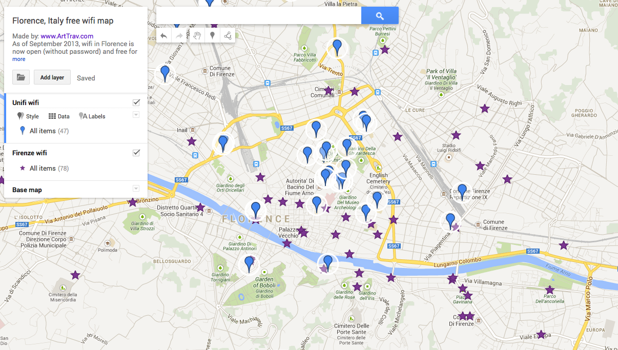 florence-free-wifi-map