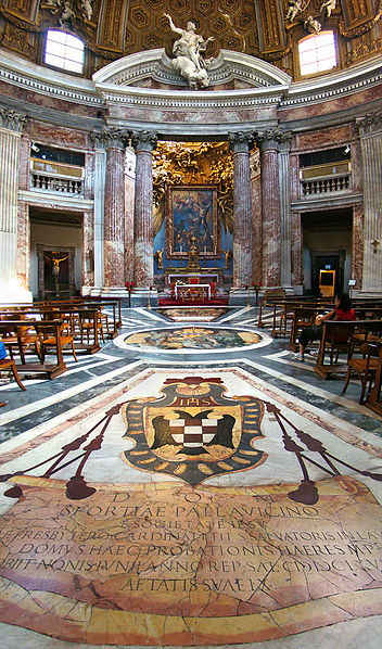 Image result for sant andrea quirinale church in rome