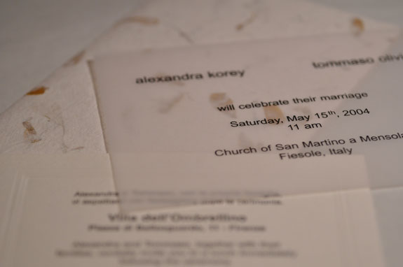 Italian wedding invitations and customs ArtTravArtTrav
