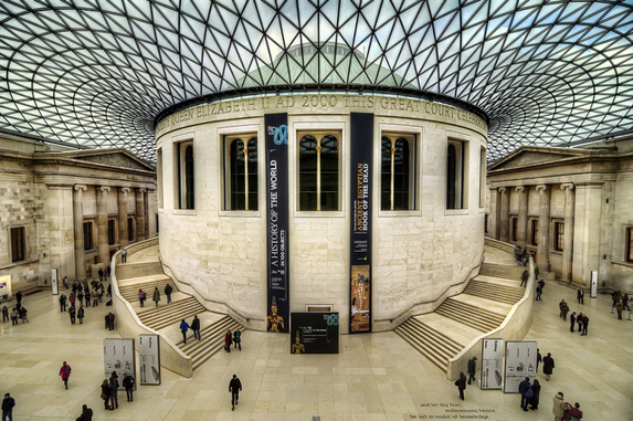 The British Museum. Photo flickr user @4colourprogress