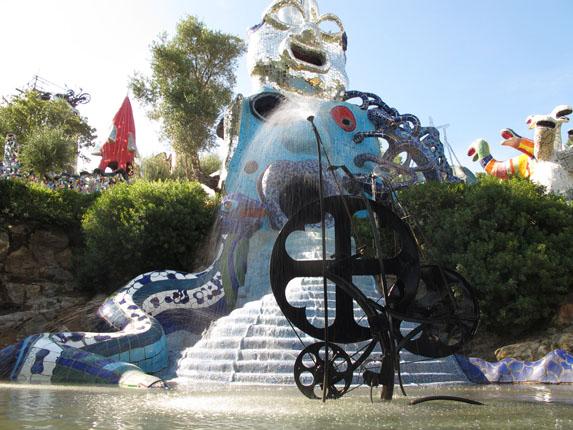 Niki de Saint Phalle garden