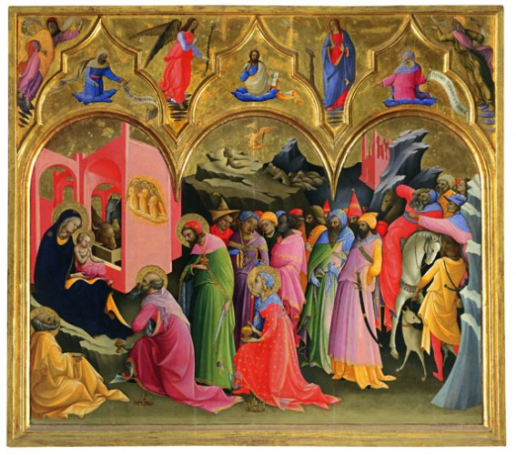 Lorenzo Monaco, Adoration of the magi, Uffizi
