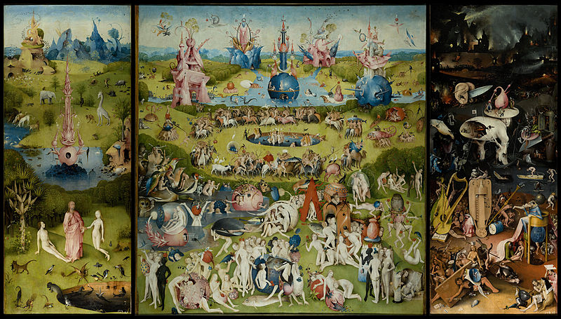 Bosch, Garden of Earthly Delights