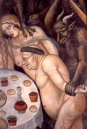 gluttons in hell