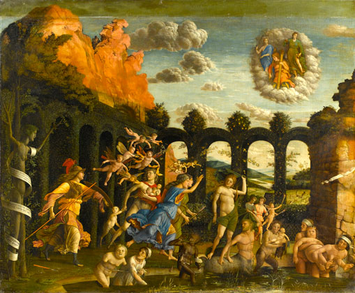 mantegna Minerva Expelling the Vices from the Garden of Virtue