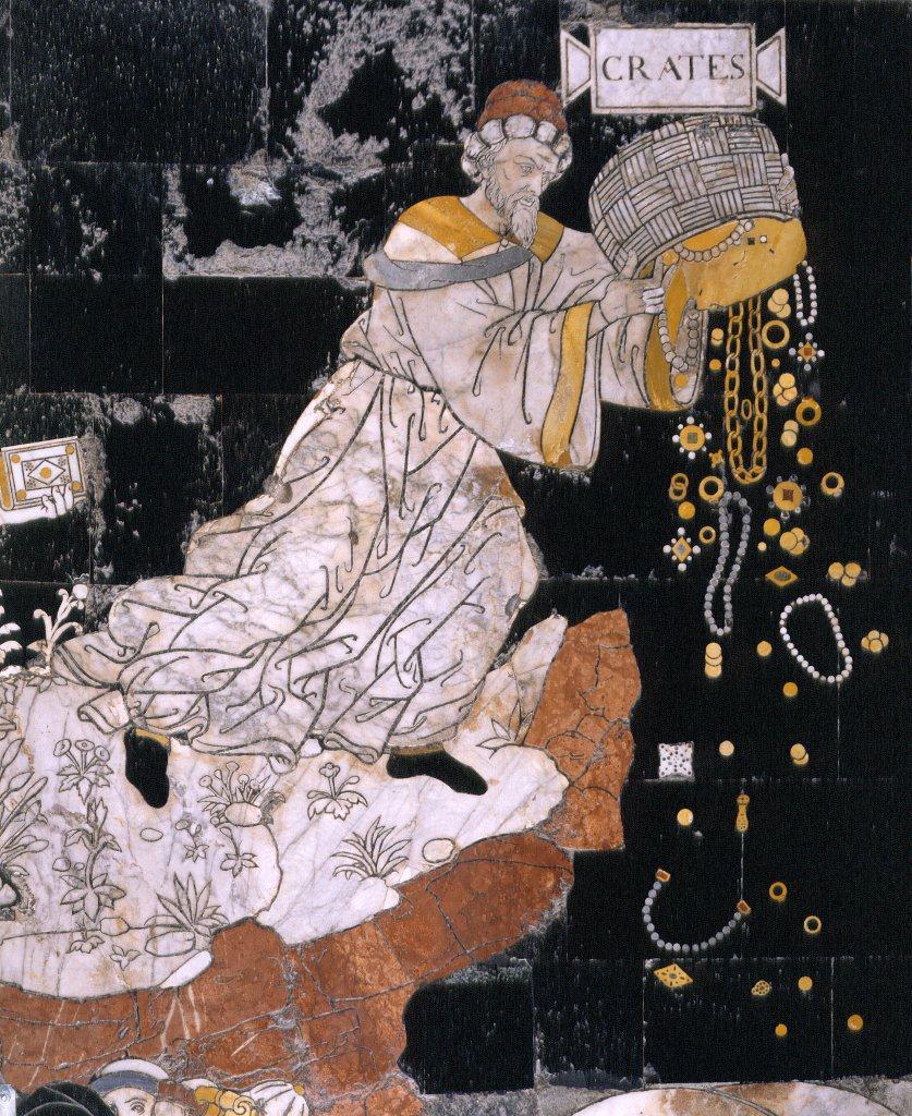 Pinturicchio, Allegoria del Monte della Sapienza Siena Duomo floor