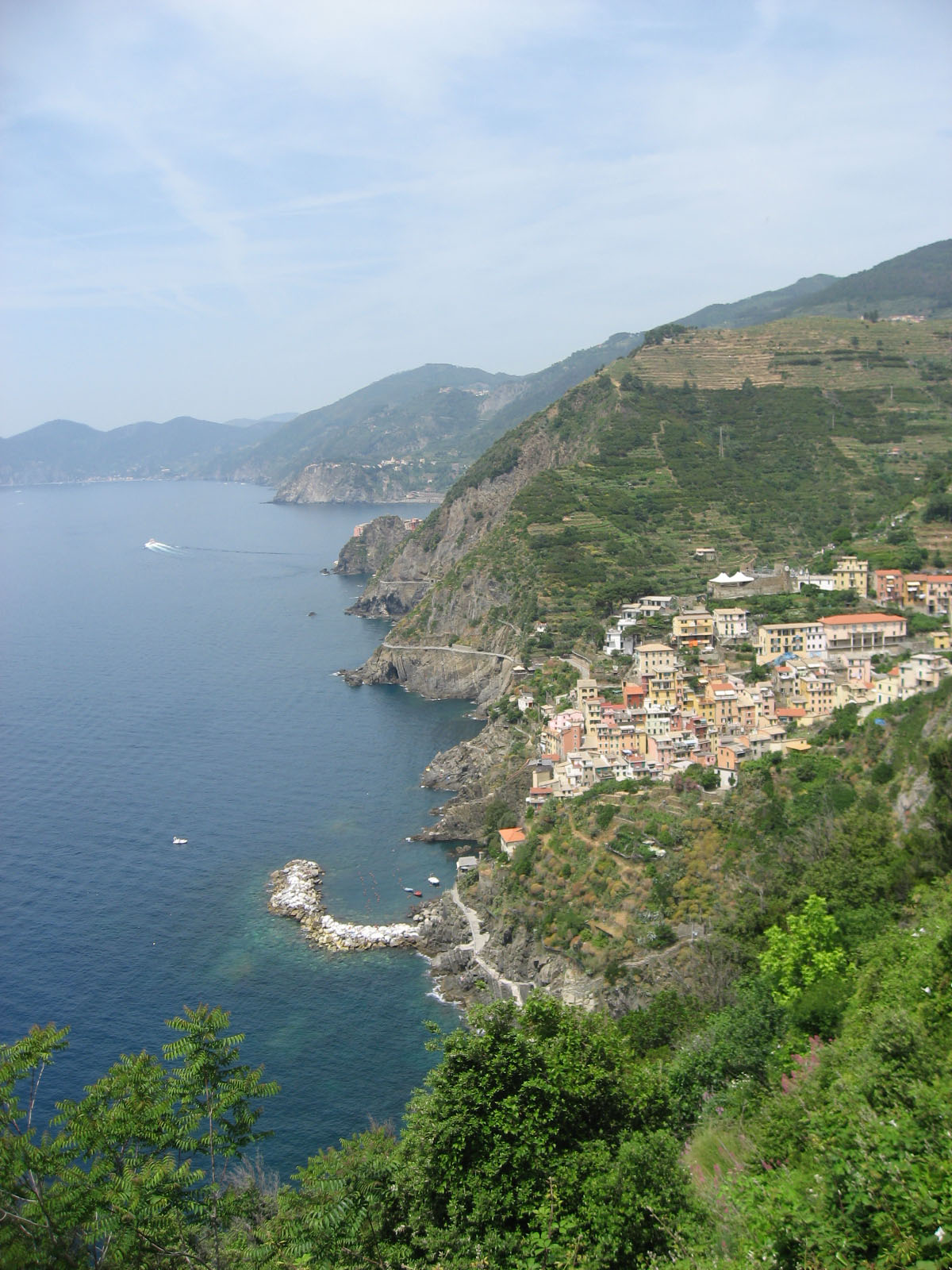 Coast towns of the Cinque Terre