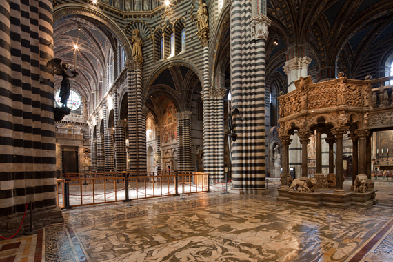 Siena's Duomo Floors uncovered