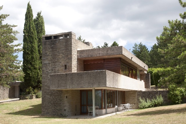 Villa all' Olmo by Riccardo Gizdulich (1965-66)