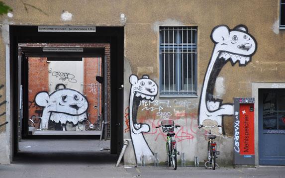 Berlin Street Art - Bimer