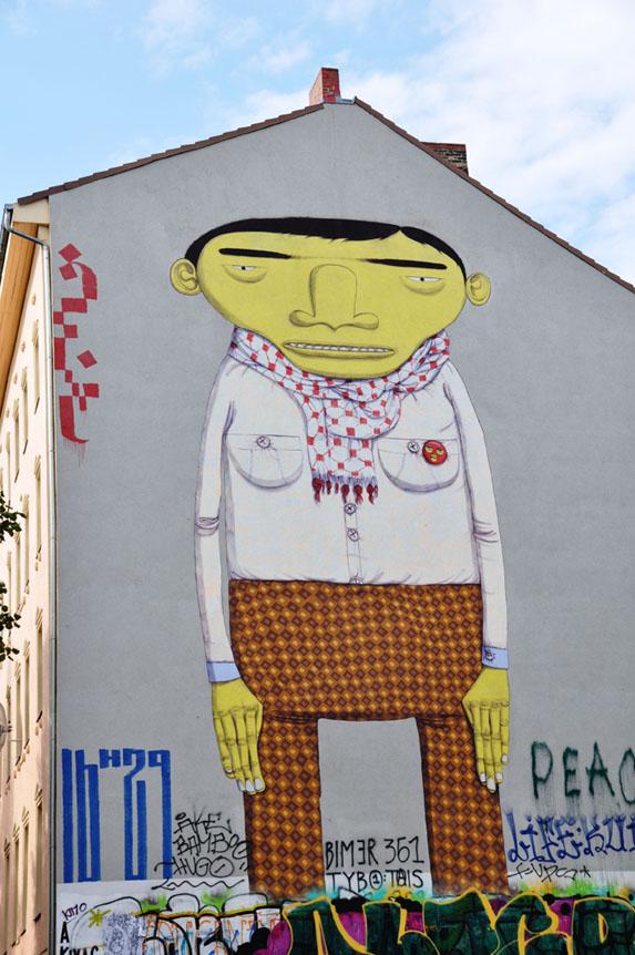 Berlin Street art - Os Gemeos