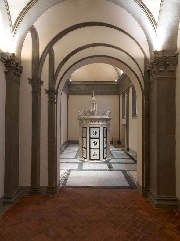 Ruccellai Chapel, Alberti