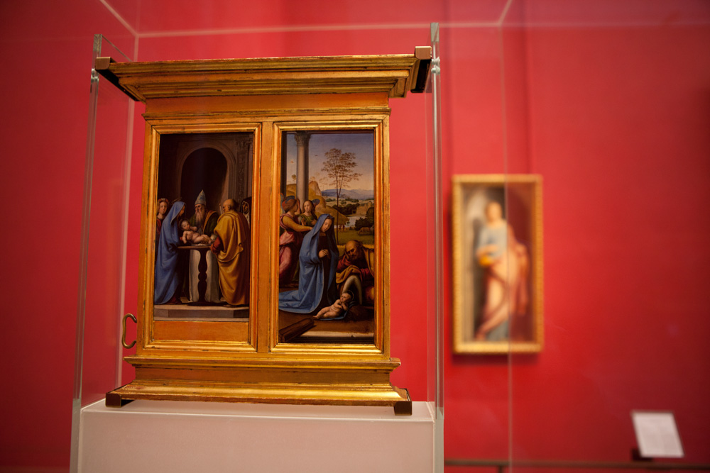 Uffizi Gallery Red Room