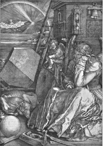 It could have been worse. (A total mis-use of Durer's image of Melancholy)